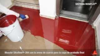 V deo aplicaci n microcemento en paredes suelos y ba os - Marmolina leroy merlin ...