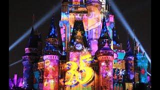 【4K 新ナイトタイムスペクタキュラー】Celebrate! Tokyo Disneyland 2018.7.16 1回目公演