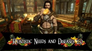 Skyrim mod: Realistic Needs and Diseases 2.0 Pt-Br