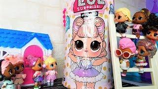 ГИГАНТСКАЯ КАПСУЛА ЛОЛ НАПУГАЛА ДАЖЕ ГРЕННИ! Куклы ЛОЛ сюрприз #мультики #lolsurprise