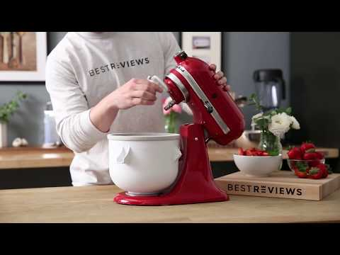 Video Homemade Ice Cream, thanks to your KitchenAid