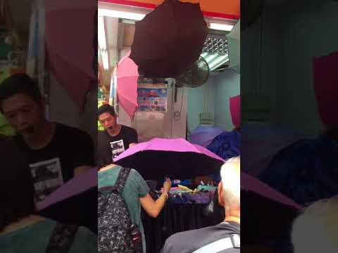 Fake UV Umbrellas in HK