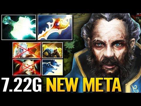 Kunkka NEW Meta RAIDBOSS   Mjollnir & Heart of Tarrasque Dota 2 Gameplay