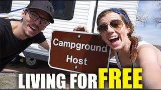 BECOMING A CAMPGROUND HOST   FULL TIME RV LIVING + CYSTIC FIBROSIS (4-12-18)