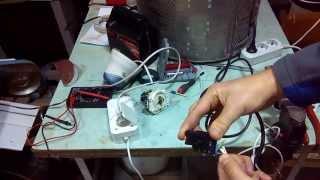 Электропривод к швейной машине Veritas своими руками. Часть 1