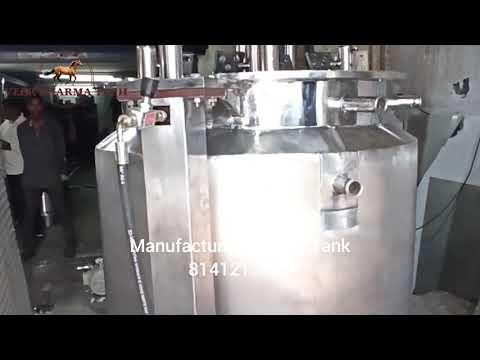 Sugar Syrup Mixing Tank