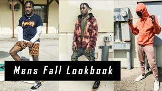3 EASY Fall Outfits For Men 2017 | Men's Fall Streetwear Lookbook | Affordable Streetwear Essentials