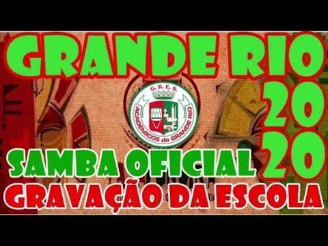 Grande Rio Carnaval 2020 | Gravação da Escola | Samba Oficial