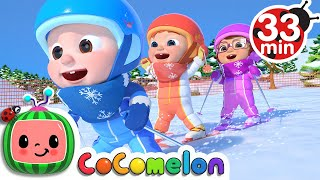 Ski Song  | + More Nursery Rhymes & Kids Songs - CoCoMelon