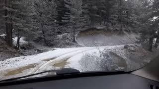 preview picture of video 'Kastamonu sarıhacı köyü // merkez köyü ile yayla yolu arası'