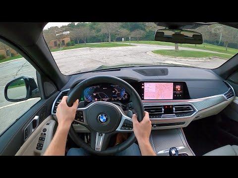 2021 BMW X5 xDrive45e - POV Towing Drive (Binaural Audio)