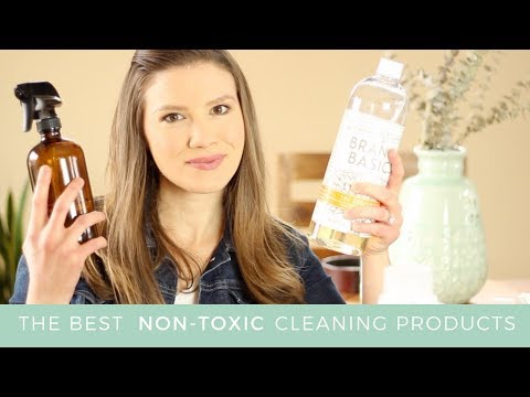 The Best Non-Toxic Cleaning Products // Laura's Natural Life