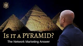Is Network Marketing A Pyramid?