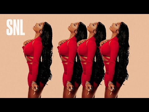 Megan Thee Stallion - Don't Stop (feat. Young Thug) [SNL Live Performance]