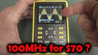 EEVblog #1260 - $70 100MHz Oscilloscope?