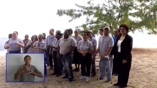Cayman National Song - Beloved Isle Cayman (Song & Sign)