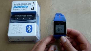 Pairing Vaaka with a Polar V800 watch