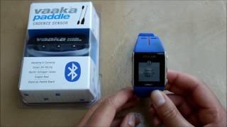 Pairing Vaaka with a Polar V800 watch