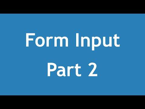 تعلم HTML5 القائمة #1 الفديو #19