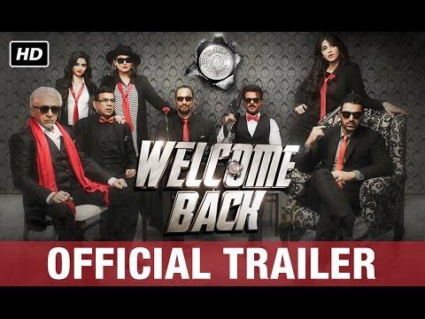 Welcome Back Official Trailer 2  Anil Kapoor Nana Patekar