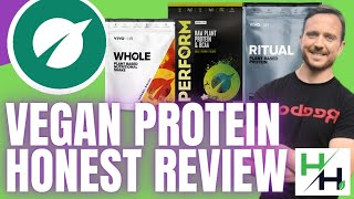 Vivo Life Protein Review: Perform, Whole, Ritual #VeganProtein #HonestReview