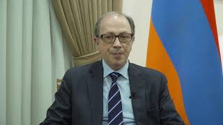 Video message by Ara Aivazian, Minister of Foreign Affairs of Armenia on the 20th Anniversary of Armenia's accession to the Council of Europe