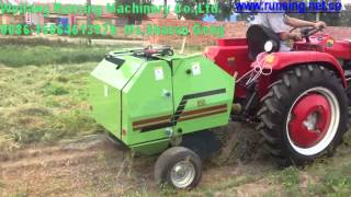 top quality factory direct price mini round hay baler