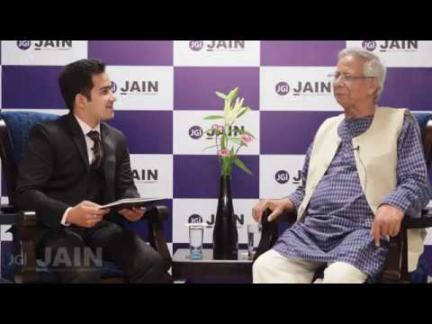 In conversation with Nobel Laureate Prof. Muhammad Yunus!