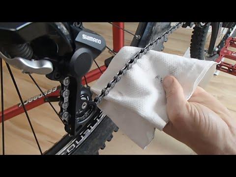 Kette am Fahrrad richtig reinigen (Teil 4) - Antrieb reinigen