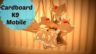 Cardboard K9 Mobile *D.I.Y Guinea Pig Toy*