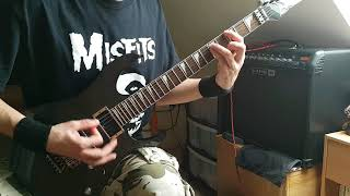 Video Konflikt - Toxická smrť (guitar cover) full HD