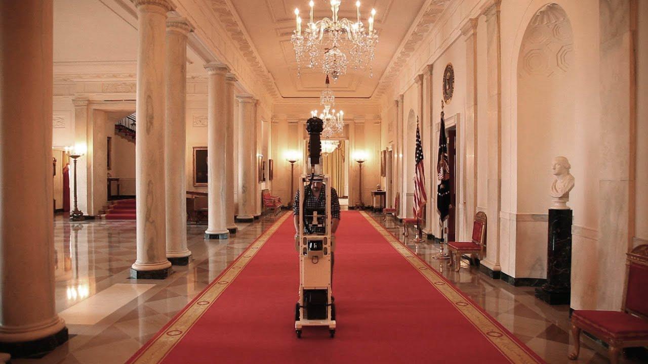Google Street View Takes A Virtual Tour Of The White House