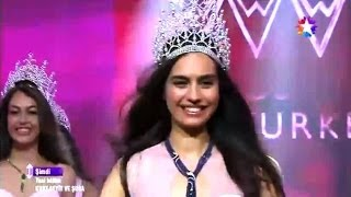 Miss Turkey 2014 - Crowning Moment