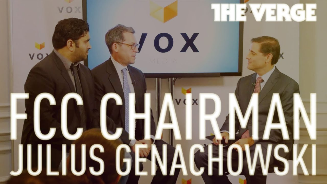FCC Chairman Julius Genachowski live from Vox Media in DC thumbnail