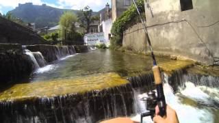 Pêche De La Truite En Lozère [HD] Gopro