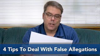 4 Tips to Deal With False Allegations   Kholo.pk