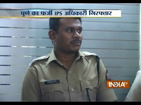 Fake IPS Officer Arrested in Pune - India TV