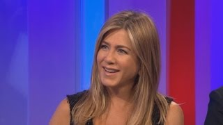 Jennifer Aniston Confesses to Watching 'Friends' Reruns -- and Never Liking the Theme Song!