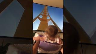 Baby Rides Virtual Roller Coaster