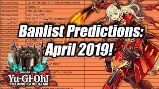 Yu-Gi-Oh! Banlist Predictions! April 2019!