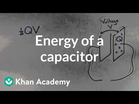 Energy of a capacitor (video) | Circuits | Khan Academy