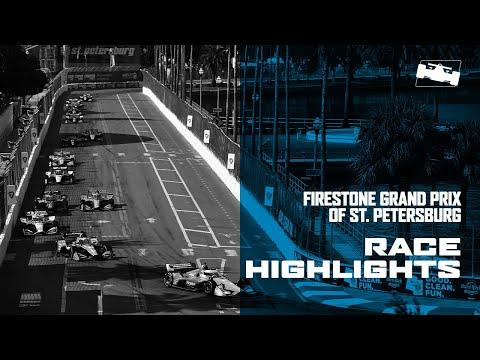 インディーカー最終戦 セント・ピーターズバーグ 決勝レースハイライト動画