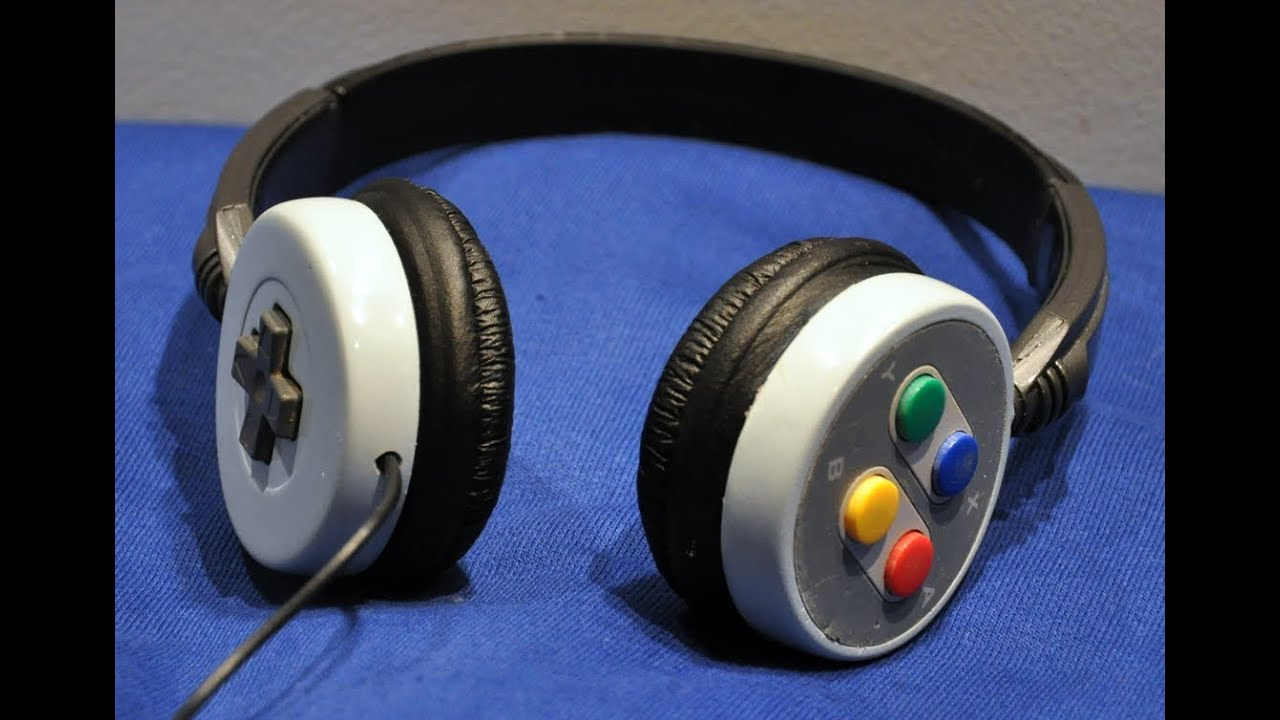 SNES Headphones Are The Best Way To Recycle Your Old Controllers