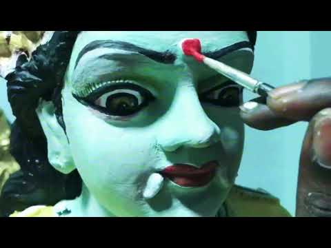Paint makeover for bagavathy