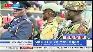 Politicians and dignitaries arrive at Uhuru park for Mashujaa day celebrations