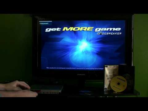 How to use patched Codebreaker with PS2 Backup games on Free