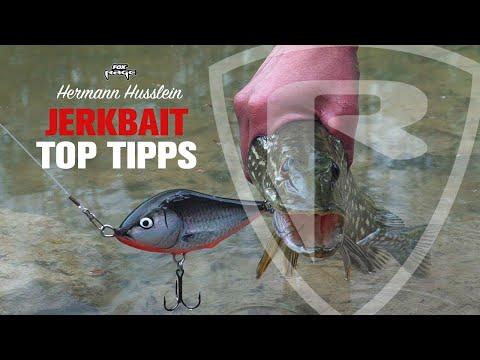 ***FOX RAGE TV*** Top Tipps zum Jerkbait fischen