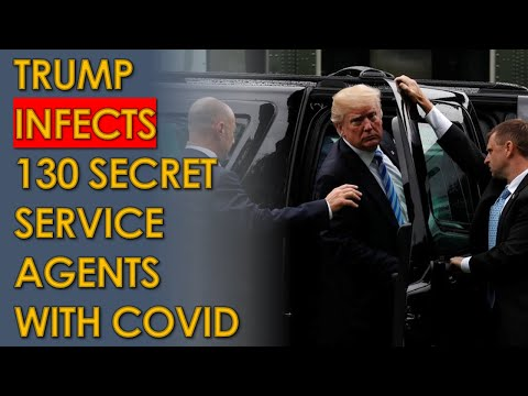 130 Secret Service Agents Infected with COVID after Trump Rallies