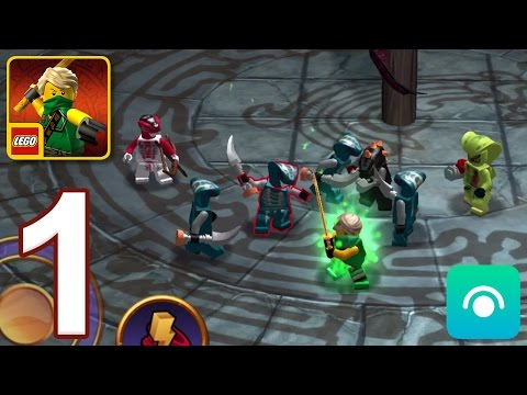 LEGO Ninjago Tournament - Gameplay Walkthrough Part 1 - Lloyd (iOS, Android)