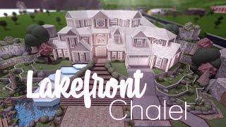 Roblox    Bloxburg: Lakefront Chalet    House Build